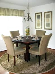 dining table rug circular kitchen rugs best ideas on room area size chart