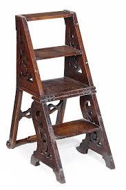 a victorian oak metamorphic chair circa the