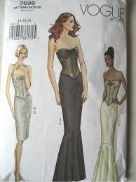 Corset Dress Pattern