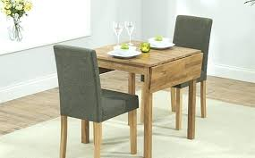 compact dining table and chairs household oak kitchen set small for 2 round glass in addition