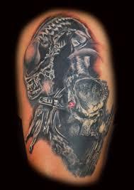 Alien Vs Predator Tattoo Design Tattoos Book 65000 Tattoos Designs