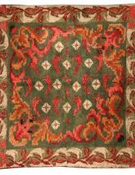 vintage french fragment rug bb4061