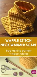 Free Knitting Patterns For Neck Warmers Best Design Inspiration