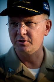 U.S. Navy Capt. Randall M. Hendrickson, commanding officer of the ...