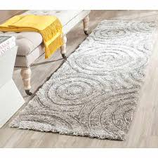 safavieh evangeline hand tufted south beach runner rug silver in on alibaba com