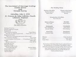 sample wedding program wording free printable wedding programs templates inside of wedding