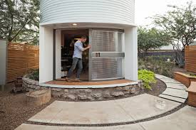 Engrossing Tiny House Sleeping Loft Plus Grain Silo Converted Into A Square  Foot Small House in