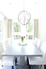 white dining room chair gray pedestal dining table with white tufted dining chairs white dining room