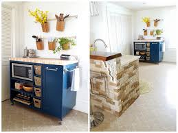 Movable Kitchen Island Designs Rolling Kitchen Island Buildsomething Com