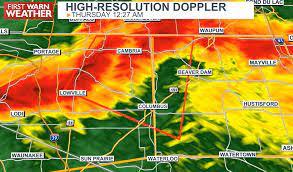 Widespread tornado warnings through ...