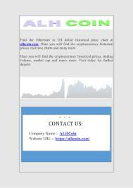 Litecoin To Us Dollar Historical Price Data Chart