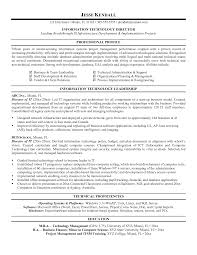 Cover Letter Example It Resumes Example Resumes For High School