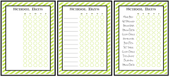 Multiple Child Chore Chart Free Printable Chore Charts For Kids Fab N Free