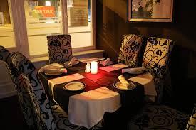 lee raj indian cuisine round table 18 for 5 people maximum