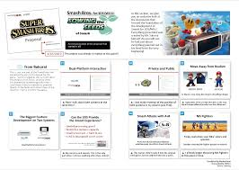 Image Transcriptions Of Project Proposal For Smash For Wii U/3Ds ...