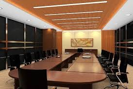Conference Room Designing In Delhi Kirti Nagar By Bharat Bhushan Custom Office Conference Room Design