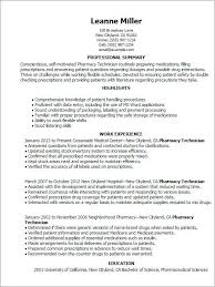 Pharmacy Technician Resume Enchanting 40 New Pharmacy Technician Resume Example Shots