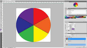 Photoshop Color Chart Lesson 20 How To Create A Color Pie Chart In Photoshop