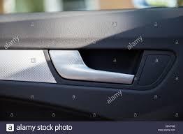 inside car door handle stock image