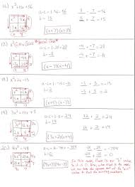 comely mr woods algebra 2 class dearborn public schools solving quadratic equations by factoring worksheet answers