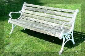vintage wrought iron garden furniture. Bench:Vintage Wrought Iron Patio Bench Black Furniture Benches Vintage Garden