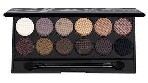 sleek makeup paletka 12 cieni au naturel 601 sleek original i divine paleta