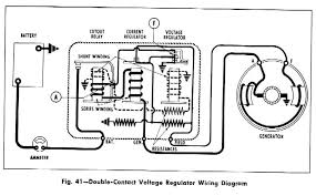 diagram plymouth 1958 circuit and wiring diagram wiringdiagram net double contact voltage regulator wiring diagram for the 1958 chevrolet passenger car truck and corvette