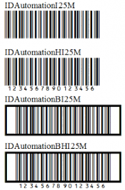 Barcode Mil Size Chart Interleaved 2 Of 5 Barcode Faq Tutorial Barcodefaq Com