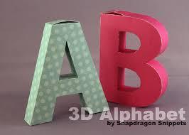 3d alphabet letter templates 121831 png