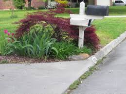 landscaping around mailbox post. Mailbox Flower Garden Ideas Awesome Idea Here For Landscaping Around Of Post
