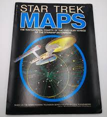 Star Trek Star Charts Book Star Trek Maps New Eye Photography Editors 9780553012026