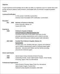 Nursing Resume Samples New Grad New Graduate Nurse Resume Examples