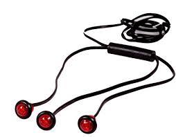 amazon com maxxima m09300r 3 red led 3 4 three unit harness image unavailable