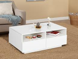 hadar coffee table high gloss with 4 drawer