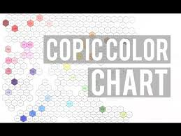 Copic Color Hex Chart Youtube