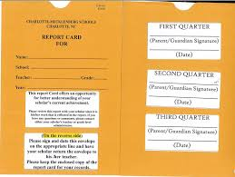report card envelopes parent resources