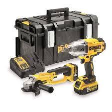 dewalt cordless grinder. dewalt dck269p2 18v 5.0ah cordless impact wrench \u0026 angle grinder twin pack dewalt o