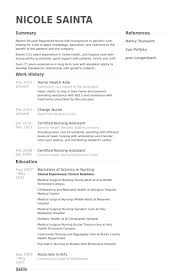 Resume For Home Health Aide 4 Home Health Aide Resume Samples