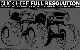 Small Picture Printable 45 Monster Truck Coloring Pages 1412 Monster Truck