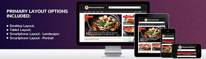 Restaurant Website Templates Classy Website Template 48 Review Restaurant Food Custom Website