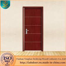desheng malaysia glass insert wood interior door panel inserts