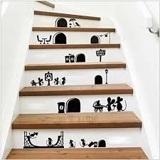 under stair wall art