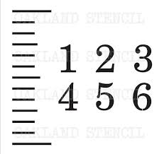 24 Growth Chart Ruler Diy Metric Free Silhouette Cut File