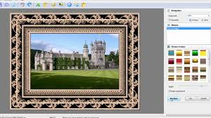 picture and photo editing software how to add picture frame and text to your digital picture image