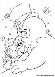 Small Picture Frosty the Snowman Glide Together Girls Coloring Pages Xmas
