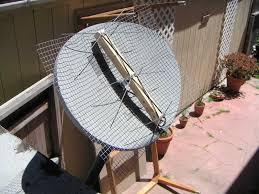 hdtv antenna on a direct tv mount
