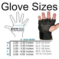 Versa Gripps Pro Size Chart Gym Gloves Size Chart Anotherhackedlife Com