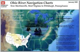 Ohio River Navigation Charts New Martinsville West