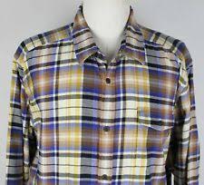<b>Рубашки</b> с длинным рукавом желтый <b>Patagonia</b> для мужчин ...