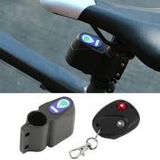 4 In 1 <b>Bicycle Bike Security</b> Lock <b>Wireless Alarm</b> Anti-theft Remote ...